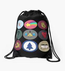 Gravity Falls Cipher Wheel Drawstring Bag