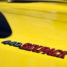 Yellow six pack 'cuda by Norman Repacholi