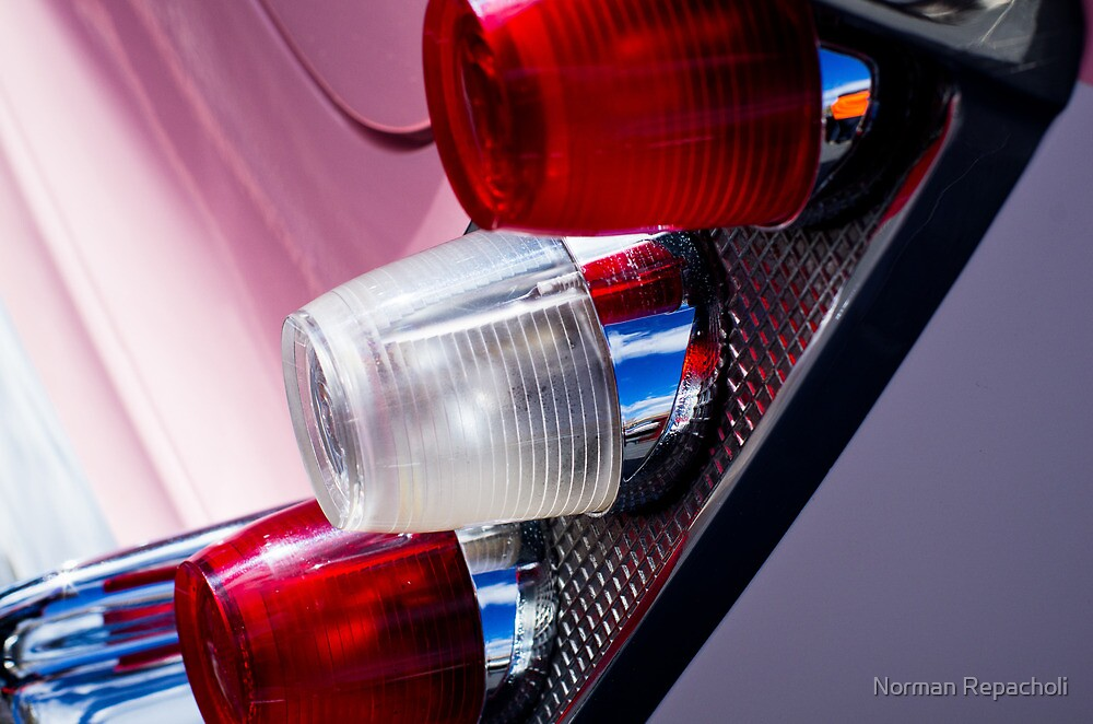 '56 Desoto tail lights by Norman Repacholi