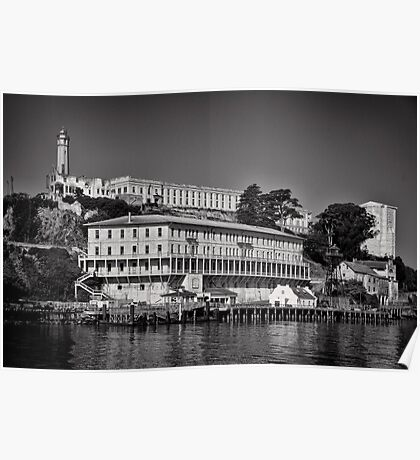 Alcatraz island and Federal Penitentiary Poster