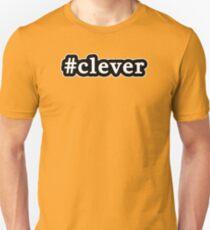 Clever - Hashtag - Black & White T-Shirt