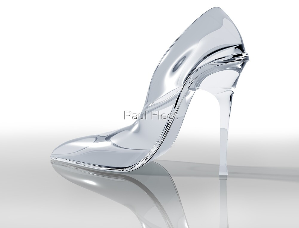 Glass slipper by Paul Fleet