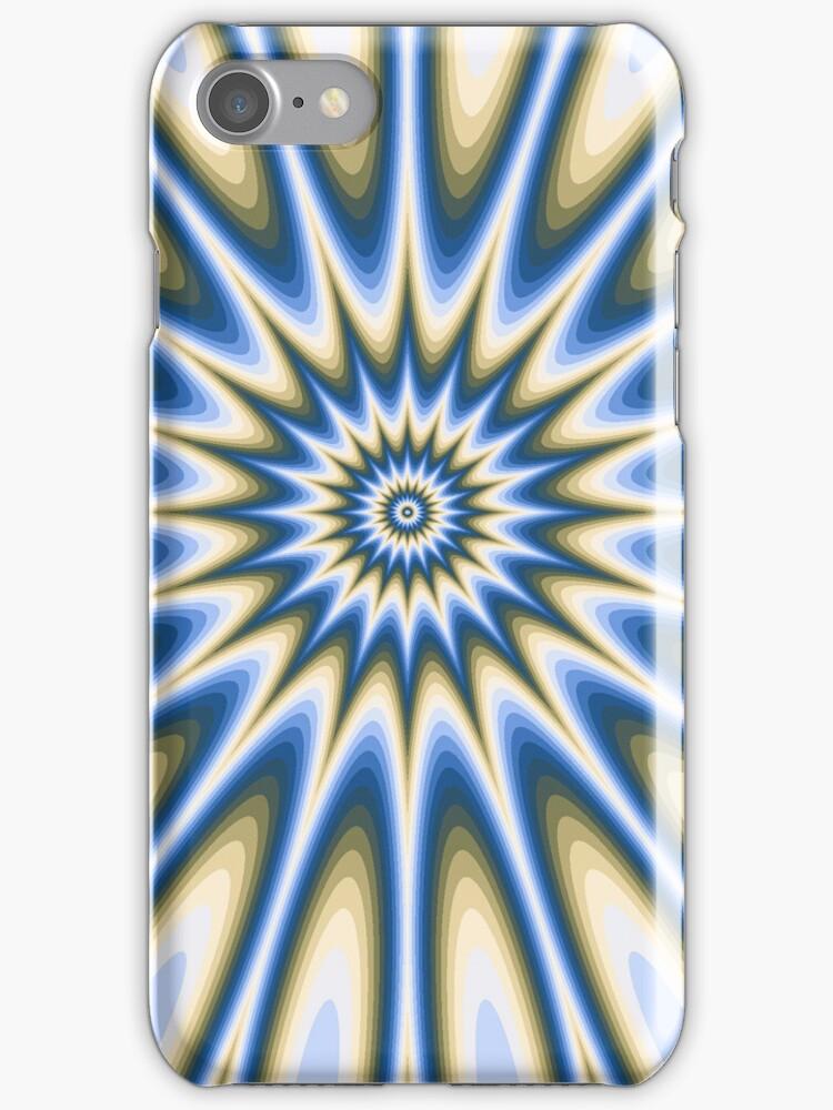 Dazzle iphone case by Elaine  Manley