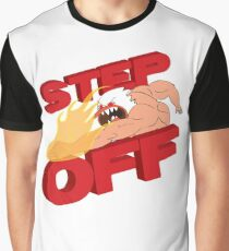 STEP OFF Graphic T-Shirt