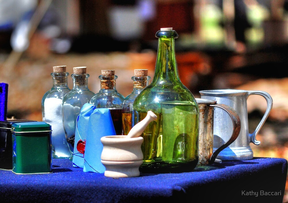 Old Medicine by Kathy Baccari