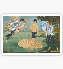 The Birth of Haru Sticker