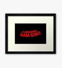 The Amazing Gambino Framed Print