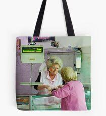 Chatting Tote Bag
