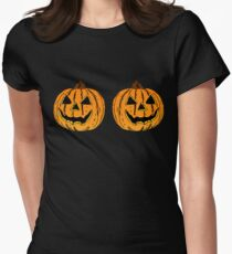 Jack-O-Lanterns Women's Fitted T-Shirt