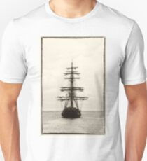 Ahoy!  Pirate Ship  Unisex T-Shirt