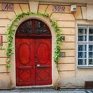 Praha: The Red Door by Jacinthe Brault