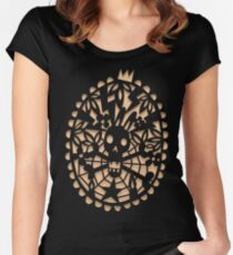 Curse of the bunny Women's Fitted Scoop T-Shirt