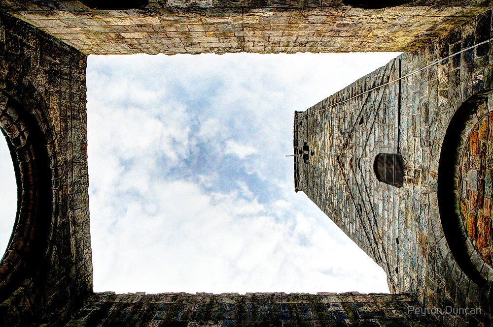 The Tower at St. Andrews Cathedral by Peyton Duncan