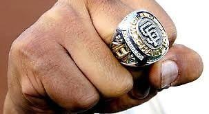 Championship Ring by Sarah Slapper