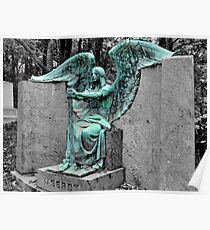The Weeping Angel {Haserot family plot} Poster