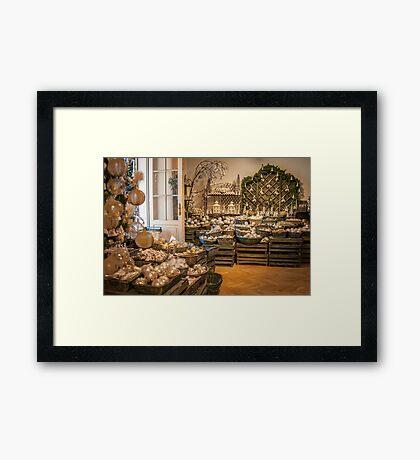 Salzburg: Christmas Time! Framed Print
