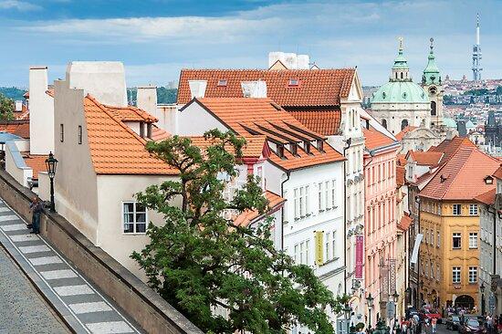 Praha: The Musician by Jacinthe Brault
