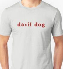 Devil Dog - Red Unisex T-Shirt