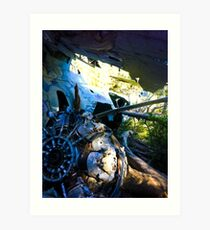 WWII Canso Bomber Crash Art Print