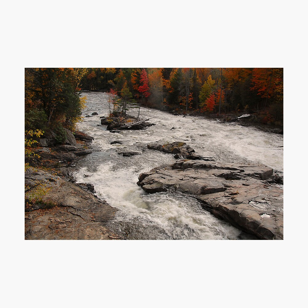 Canadian Autumn Landscape Photographic Print