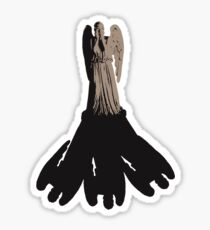 weeping angel meets vashta nerada Sticker
