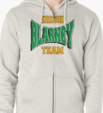 Irish Blarney Team Zipped Hoodie
