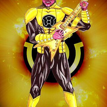Yellow Lantern - Lead Guitar by NuttyRachy