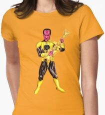 Yellow Lantern - Lead Guitar Women's Fitted T-Shirt