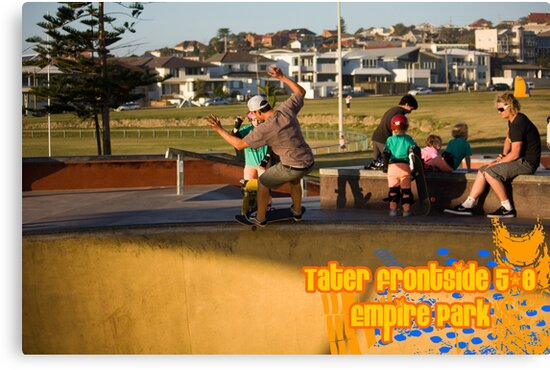 Tater Frontside 5-0 Shallow End by reflector