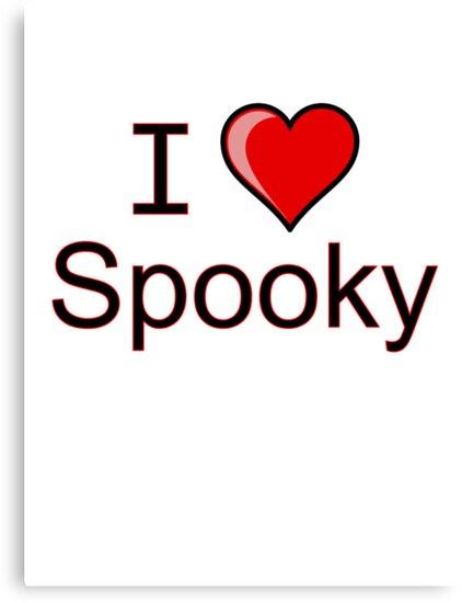 I love Halloween Spooky  by Tia Knight