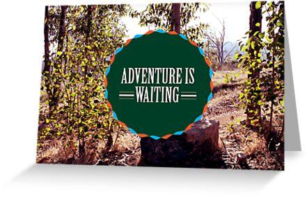 Adventure is Waiting by Diana Nevarez