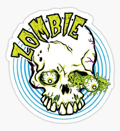 Zombie Sticker