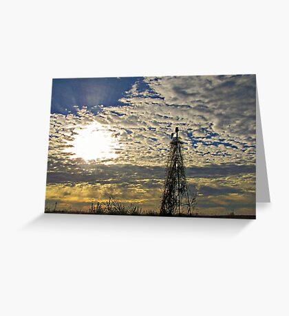 Morning Rays Greeting Card