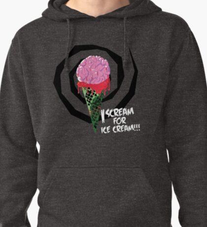 I Scream For Ice Cream!!! (BRAAAAIIINNSSSS) T-Shirt