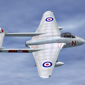 De Havilland  Vampire by Skyviper