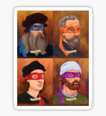 The Renaissance Ninja Artists Sticker