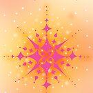 Happy Holidays Snowflake by Lynne Goodman