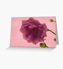 Campanella - Semi Double  Greeting Card