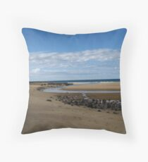 'Inlet' at Coral Bay beach Bundaberg, Queensland sth/east. Throw Pillow