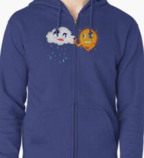 Love Conquers All  Zipped Hoodie
