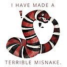 Terrible Misnake by MicaelaDawn