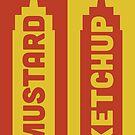 Ketchup, Mustard by Stephen Wildish