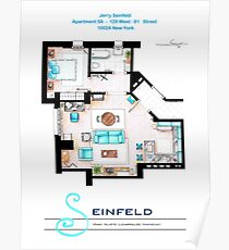 Seinfeld Apartment v2 Poster