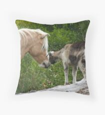 Billy and the Kid Throw Pillow