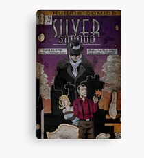 Adventures of the Silver Shroud Canvas Print