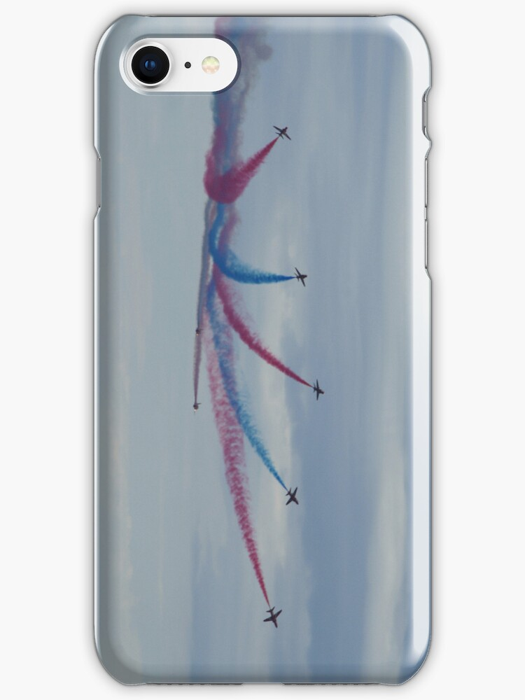 Red Arrows Starburst by Timeless Prints