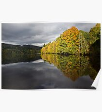 Pitlochry reflections Poster
