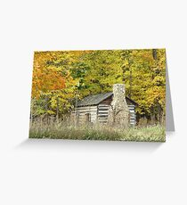 Cabin on the Farm Greeting Card