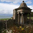 The Holy Isle, Lindisfarne, old burial plot by BronReid
