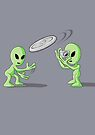 Aliens Frisbee UFO Hoax by Creative Spectator